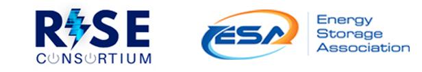 RISE Consortium & Energy Storage Association (ESA) Logos