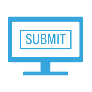 Computer Submit Icon